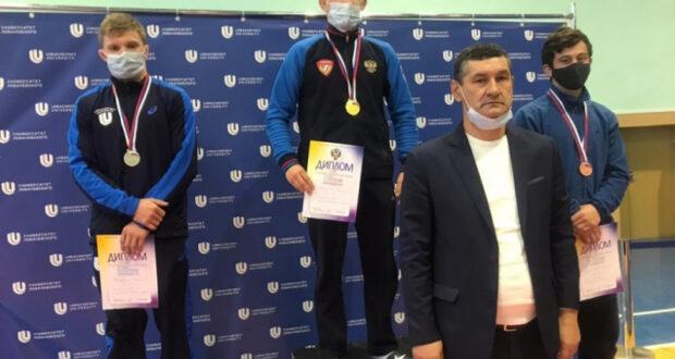 Алуштинец Эмиль Абдураманов – бронзовый призер чемпионата России по греко-римской борьбе среди студентов