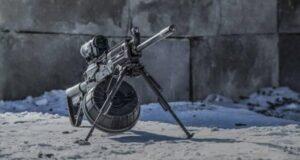 Крымчанин пришел на пляж с пулеметом