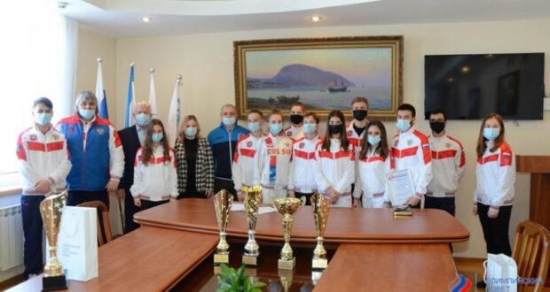 Олимпийский совет Крыма отметил лучших спортсменов республики по итогам 2020 года