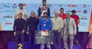 Алуштинец Бэкхан Оздоев – серебряный призер чемпионата России по греко-римской борьбе!