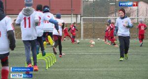 Спортивные школы Крыма получили новый инвентарь