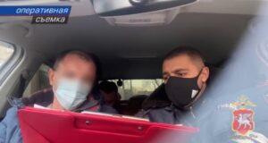В Керчи сотрудники ГИБДД задержали пьяного водителя