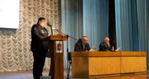 Начальник ОМВД России по Нижнегорскому району отчитался перед депутатами об итогах работы подразделения за 2020 г.