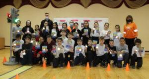 В г.Симферополе более 150 школьников приняли участие в мастер-классе по основам безопасного поведения на дороге