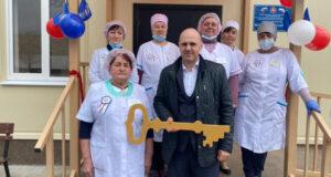 Минздрав РК: В селе Кормовом Первомайского района открылась врачебная амбулатория