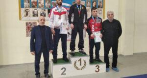 Все победители и призеры первенства ЮФО по греко-римской борьбе среди юниоров до 24 лет