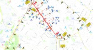В Симферополе перекроют улицу Козлова: автобусы пустят в объезд, маршруты троллейбусов сократят, - КАРТА