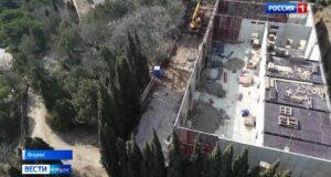 Скандальные стройки развернулись в реликтовых чащах Фороса и на побережье Крыма