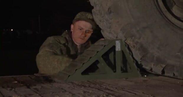 Россия возвращает войска в пункты дислокации с учений в Крыму