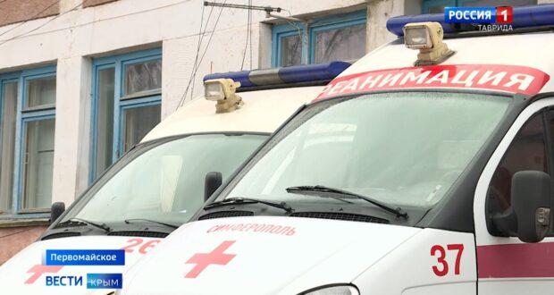 В Минстрое Крыма оценили ремонт больницы Первомайского района