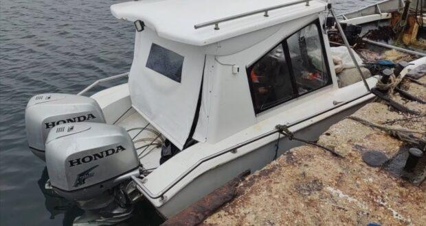 Украинское рыболовное судно вторглось на территорию Крыма
