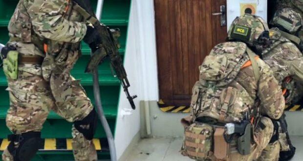 Пограничники провели антитеррористические учения в Черном море