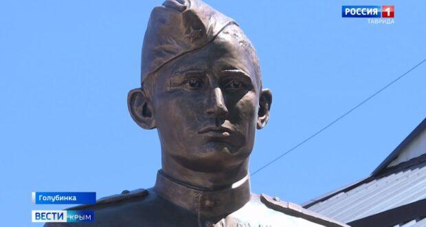Памятник полному кавалеру ордена Славы открыли в Крыму