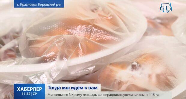 В Кировском районе постящимся развозят еду