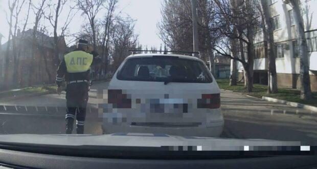 В Керчи задержали водителя в состоянии наркотического опьянения