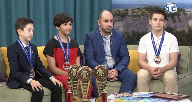 Гости «САБА»:  Афган Мирзоев, Анар Мирзоев, Сулейман Ягъяев, Айше Ягъяева 27.05.21