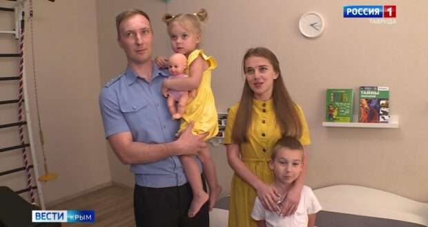 Крымские пограничники отмечают профессиональный праздник