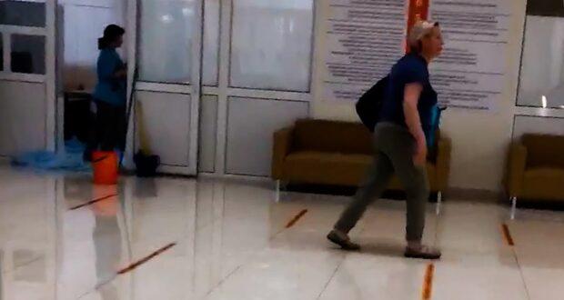 Сбой автоматики привел к подтоплению больницы в Симферополе