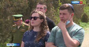 Братскую могилу жертв нацизма привели в порядок в Крыму