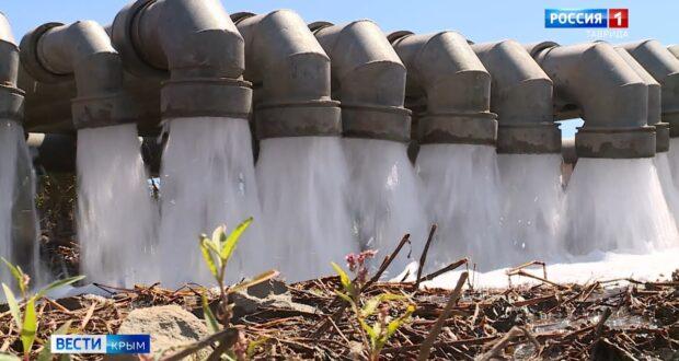 Крым преодолел водную блокаду