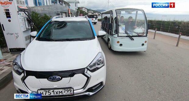 Электротранспорт Крыма: новые услуги и проблемы