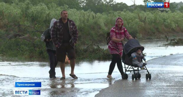 Жителям Приозёрного выплатят компенсацию из-за потопа