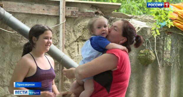 Cело Приозерное защитят от повторного наводнения