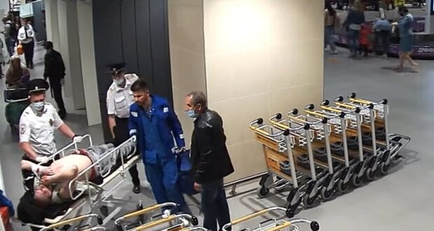У пенсионера остановилось сердце в аэропорту Симферополя