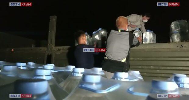 В Ялте организовали подвоз питьевой воды для жителей города