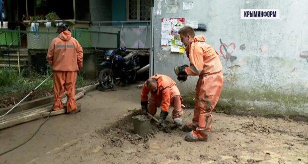 Масштабная дезинфекция начинается в Ялте после наводнения