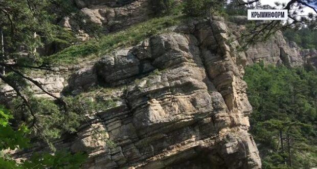 Самый высокий водопад Крыма после наводнения
