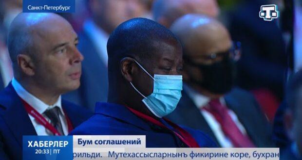 Крым на ПМЭФ подписал контракты на десятки миллиардов рублей