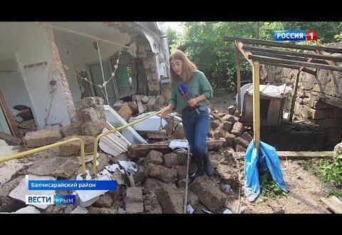 В поселке Куйбышево двое суток искали погибшую во время потопа женщину