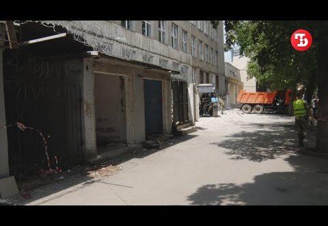 В Симферополе сносят «блошиный рынок»