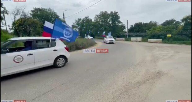 Автопробег «Дорогами Победы» приехал в Крым