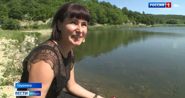 Грушевое озеро под Судаком на грани исчезновения