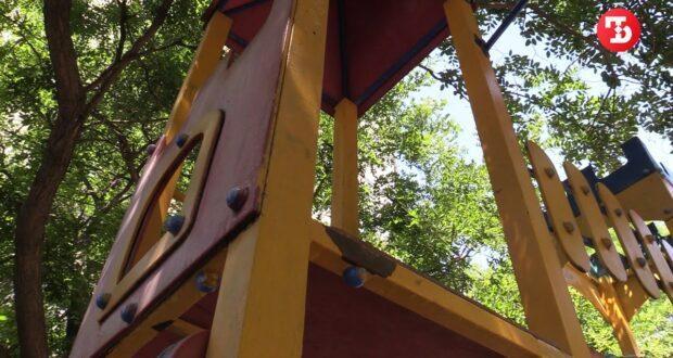 В Симферополе ребенок получил серьезную травму на детской площадке