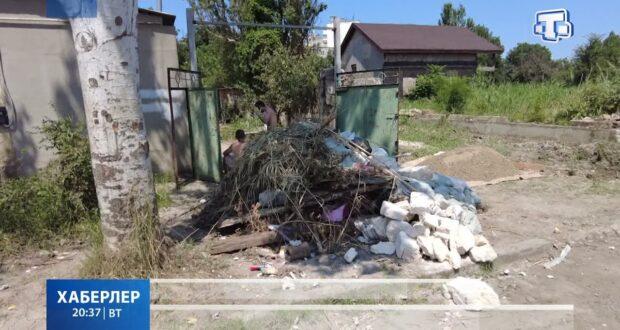 В Керчи продолжают ликвидировать последствия стихии