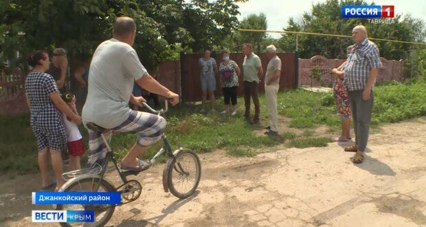 Жители Джанкойского района остались без дорог