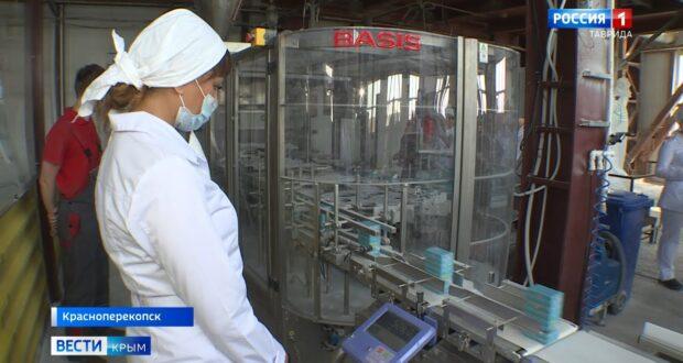 Тысячу тонн соды в месяц будут выпускать в Крыму