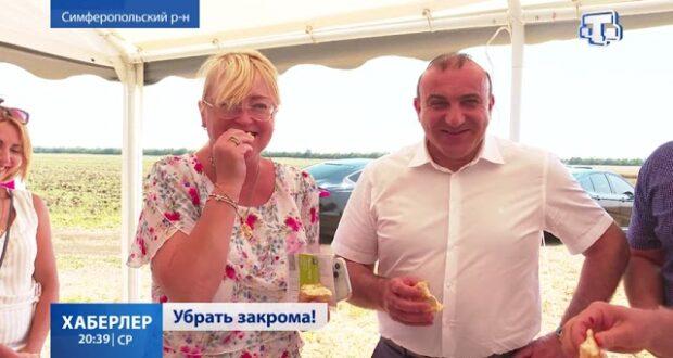 Уборка зерновых продолжается в Крыму