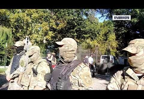 Подозреваемые в подрыве газопровода в Крыму доставлены в суд