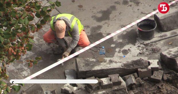 В Симферополе начали ремонтировать улицу Гоголя. Движение пока не закрыли