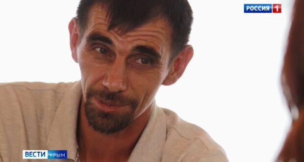 Крымчанин учит слабовидящих детей единоборствам