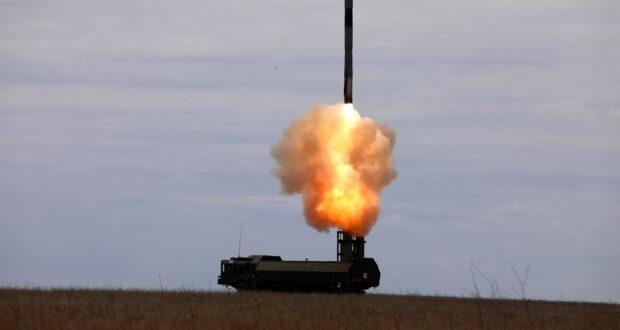Военные ЧФ нанесли ракетный удар по «противнику» в Чёрном море