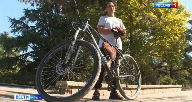 Крымчанин на велосипеде доехал до Владивостока
