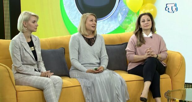 Гости «Мераба, Саба!»:  Наталья Сырбу, Нонна Бахарева и Анна Рыжкова 24.09.2021