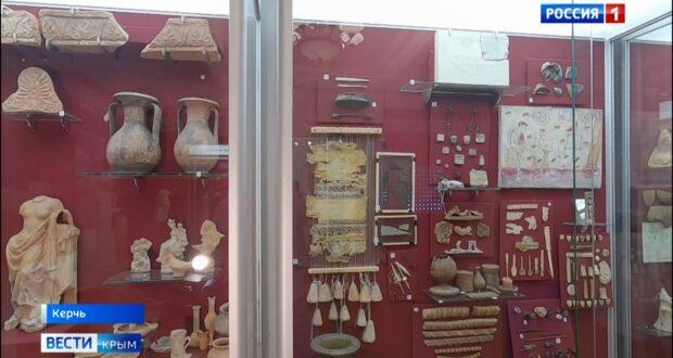 Историю Боспорского царства показали в музее Керчи