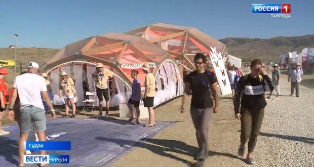 Более 5 тысяч участников приехали на фестиваль «Таврида АРТ»
