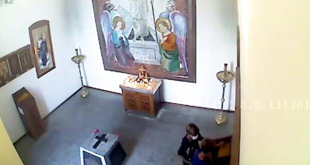 Дети пытались обокрасть часовню в Севастополе